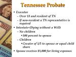 Tennessee Probate