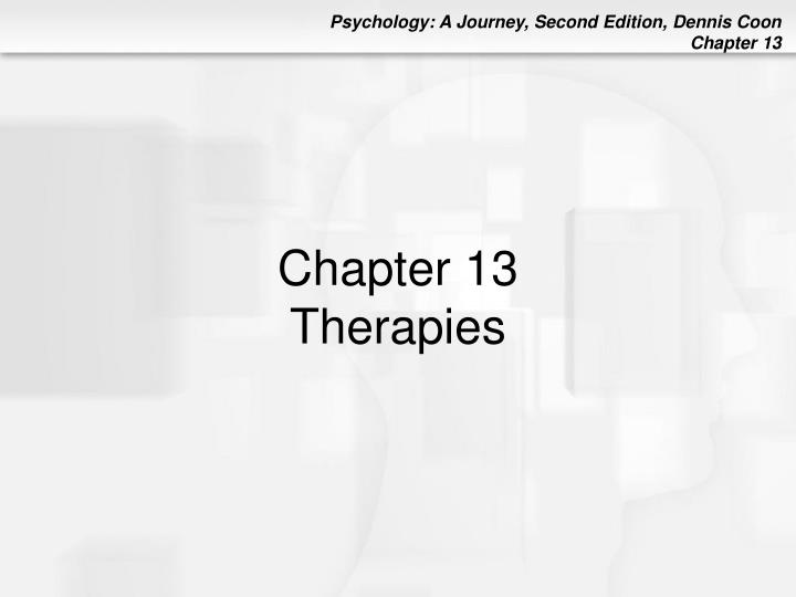 chapter 13 therapies n.
