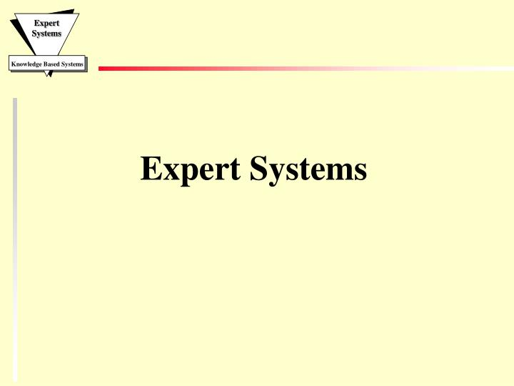 expert systems n.