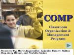 COMP Classroom Organization & Management Program