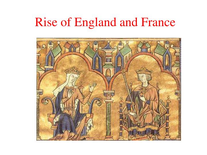 rise of england and france n.
