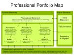 Professional Portfolio Map