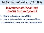 MUSIC: Harry Connick Jr., 20 (1988)