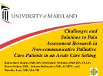 Challenges and Solutions to Pain Assessment Research in