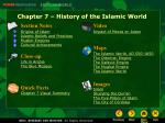 Chapter 7 – History of the Islamic World
