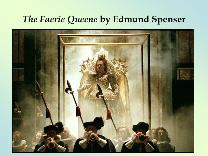 the faerie queene by edmund spenser n.