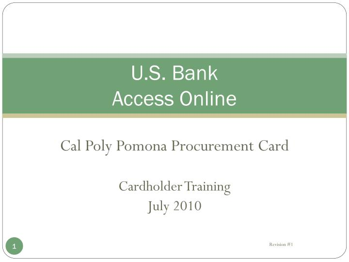 u s bank access online n.