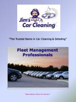 """""""The Trusted Name in Car Cleaning & Detailing"""""""