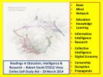Brain Mind Network Education Knowledge Learning Information Intelligence Research Collective Intelligence Digital Econom