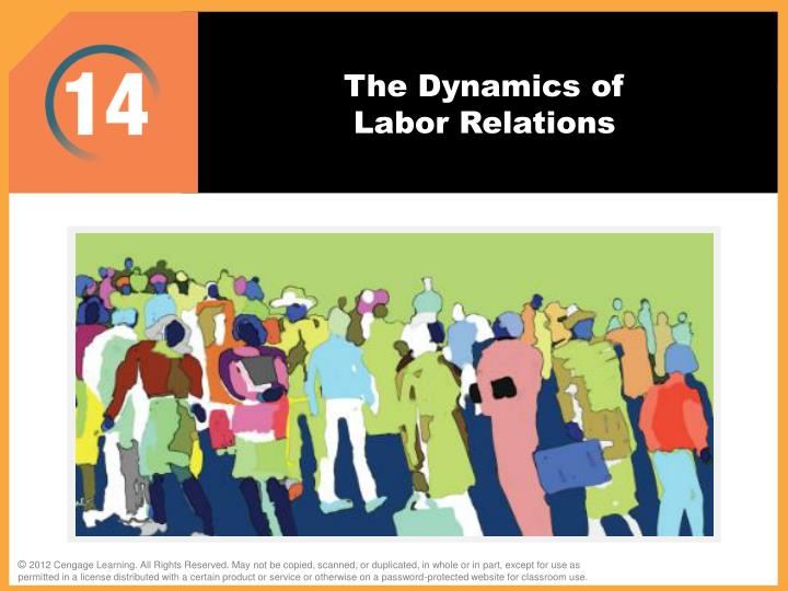 the dynamics of labor relations n.