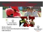 Youth Unified Sports®: Young people with and without intellectual disability in school-based sports teams