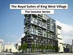 The Royal Suites of King West Village