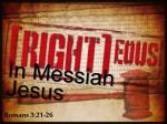 In Messiah Jesus