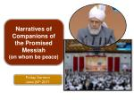 Friday Sermon June 24 th 2011
