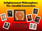 Enlightenment Philosophers: The Candide Connection