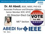IEEE R1 Board of Governors Meeting – Aug 24, 2013 - Providence, RI