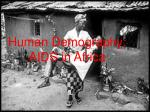 Human Demography: AIDS in Africa
