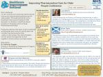 Improving Pharmaceutical Care for Older  People  Conference