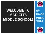 Welcome to marietta middle school!
