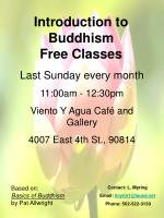 Introduction to Buddhism Free Classes