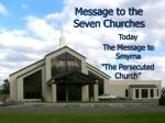 Message to the Seven Churches