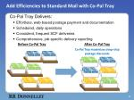 Add Efficiencies to Standard Mail  with Co-Pal Tray