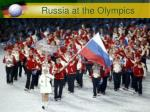 Russia at the Olympics