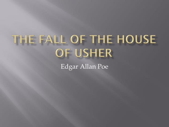 the fall of the house of usher n.