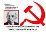 CHAPTER 28 WORLD WAR AND COMPETING VISIONS OF MODERNITY TO 1945