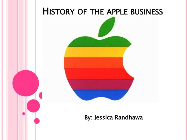 history of the apple business n.