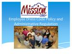 Employee Dress Code Policy and Administrative Regulation