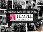 Campus Marketing Plan
