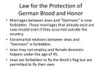 Law for the Protection of German Blood and Honor