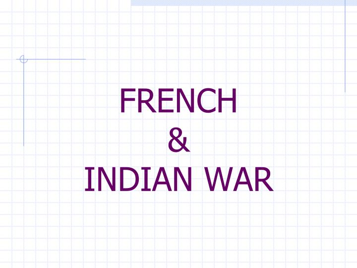 french indian war n.