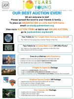 OUR BEST AUCTION EVER!