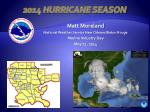 2014 Hurricane Season