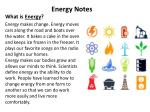 What is  Energy ?