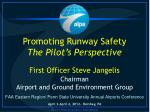 FAA Eastern Region/ Penn State University Annual Airports Conference
