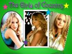 The Girls of Country