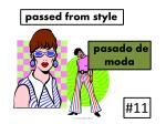 passed from style