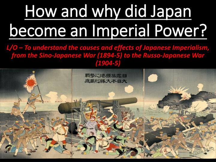 how and why did japan become an imperial power n.