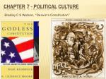 Chapter 7 - Political Culture