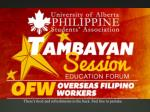 Oversea Filipino Workers