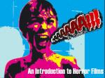 An Introduction to Horror Films