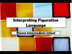 Interpreting Figurative Language