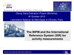 The BIPM and the International Reference System (SIR) for activity measurements