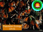 Population Ecology ( Ch.5)