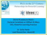 PLCs in the 21 st Century: Partnerships for Powerful Learning