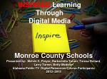 INSPIRED Learning Through Digital Media