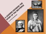 A Leaders Decision: The Story of the Nez-Perce By Sophie Rosenkranz